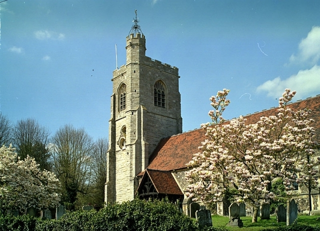 Parish church of St Peter, South Weald (via photoanswers.co.uk)