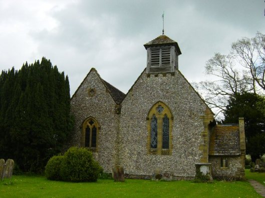 St Bartholomew's church, Albourne, Sussex
