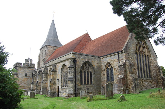 St Dunstan's church, Mayfield (via geograph.co.uk)