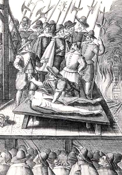 Execution of Catholics during the reign of Elizabeth I by Franz Hogenburg