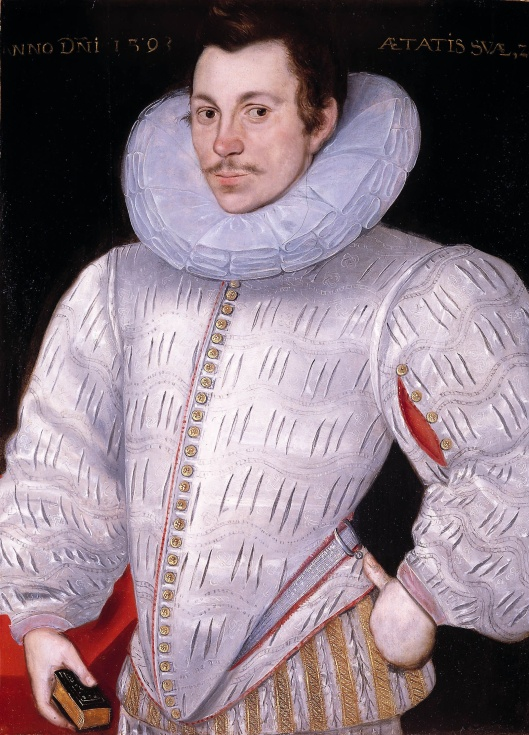 Sir John Ashburnham by Hieronimo Custodis