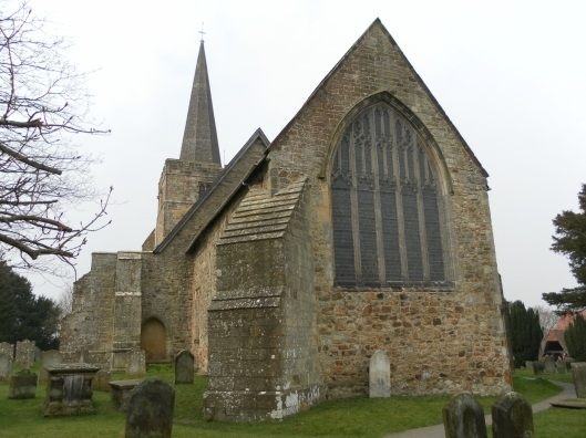 Parish church of St Denys, Rotherfield (via wikimedia)
