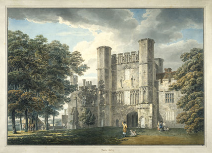 The gatehouse, Battle Abbey