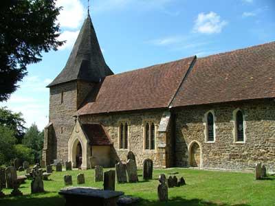 Parish church, Catsfield