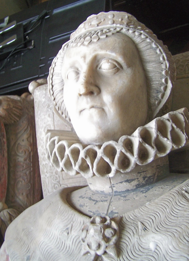 Effigy of Magdalen Dacre, Viscountess Montague (died 1608)
