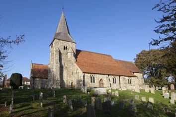 Burwash parish church