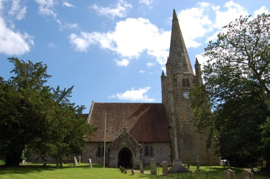Parish church, Chiddingly (via geograph)