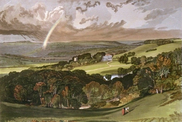 The Vale of Ashburnham by JMW Turner