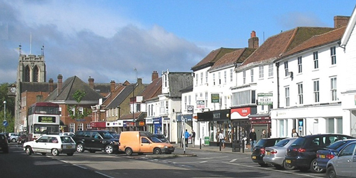 Epping High Street today