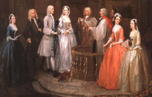 An 18th century wedding (via britlitwiki.wikispaces.com)