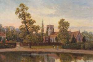 All Hallows Church, Tottenham by John Bonny (1890), via bbc.co.uk