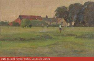 Clay Hill Farm, Devonshire Hill, Tottenham (Copyright Bruce Castle Museum)