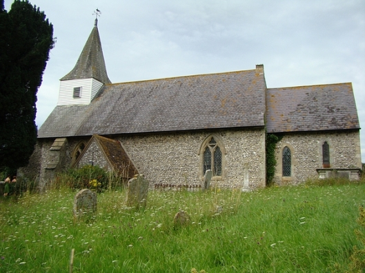 Litlington parish church, Sussex (via totally-cuckoo.com)