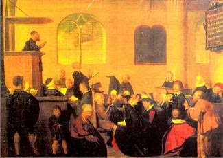 Protestant preaching in the early 16th century (via http://4.bp.blogspot.com)
