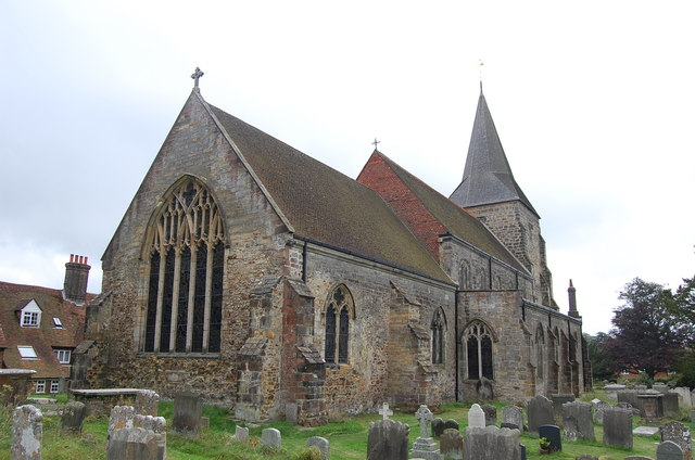 St Dunstan's church, Mayfield, Sussex