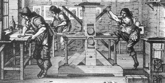 Printing in the 17th century