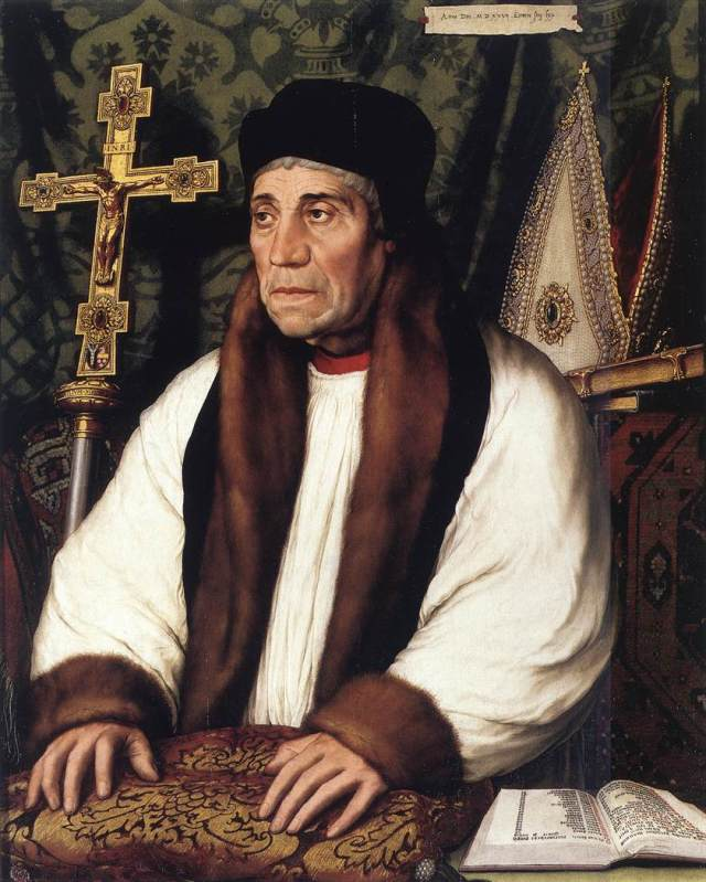 William Warham, Archbishop of Canterbury, by Hans Holbein