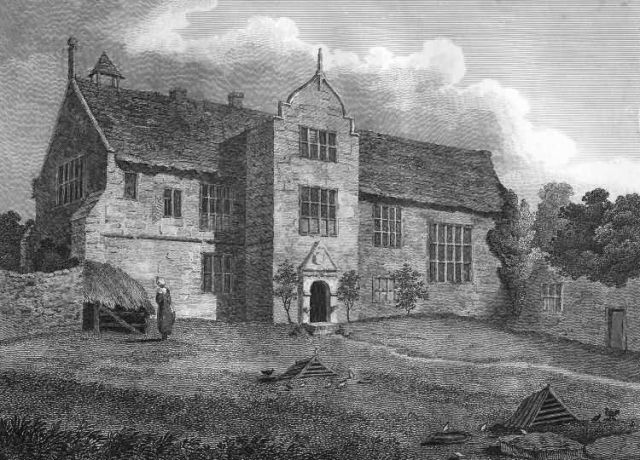 Combwell Priory in 1809 (see footnote)