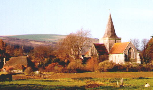 St Andrews church, Alfriston (via alfriston-churches.co.uk)