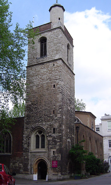 Church of St Bartholomew the Less, City of London