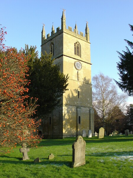 Fladbury parish church (via geograph)