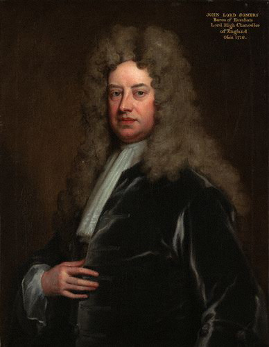 John Somers, Baron Somers, by Sir Godfrey Kneller, Bt