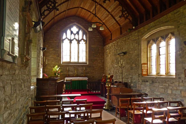 Interior of parish church of St Bartholomew, Naunton Beauchamp (via worcesteranddudleyhistoricchurches.org.uk)