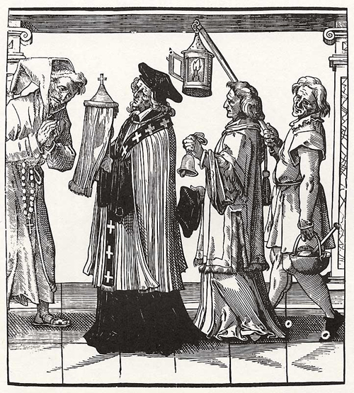Sixteenth century clergy