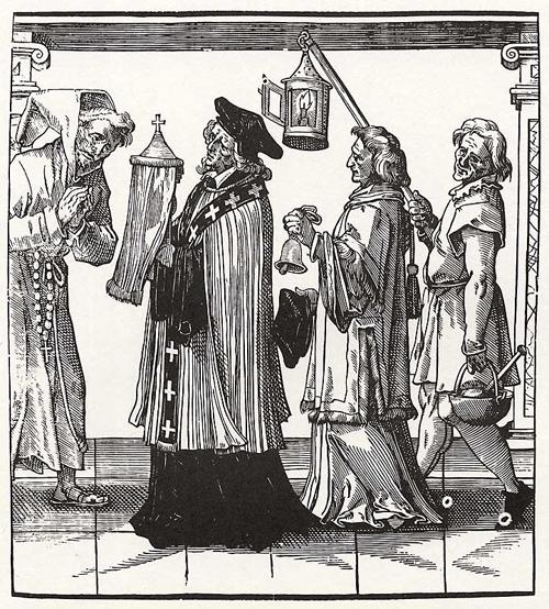 Sixteenth century clergy