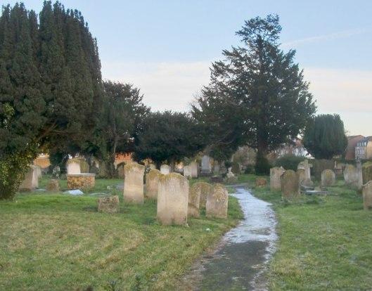 Churchyard, Mitcham, Surrey