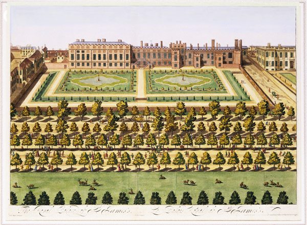 St James' Palace and garden (via www.gardenvisit.com)
