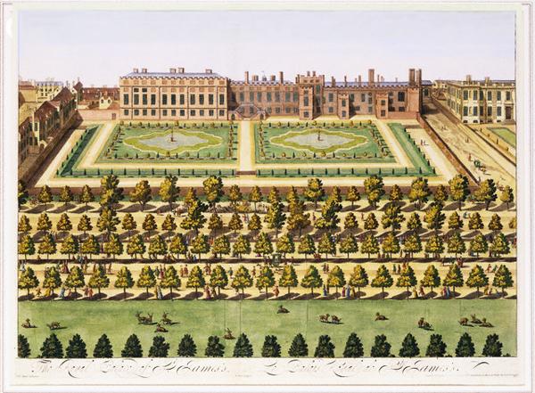St James' Palace and garden (via www.gardenvisit.com)