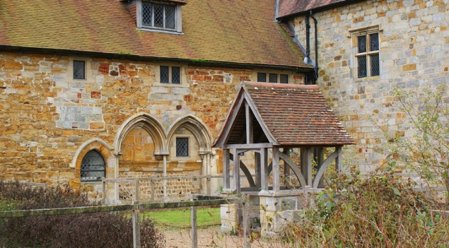 Michelham Priory cloisters (via sussexpast.co.uk)